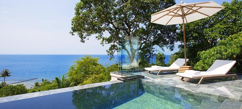 Pool Area at Trisara, Phuket