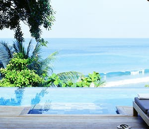Pool and Sea View at Trisara, Phuket