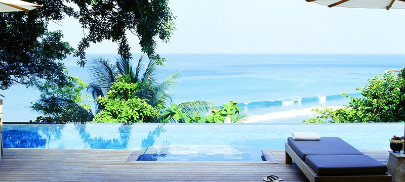 Pool and Sea View at Trisara, Phuket