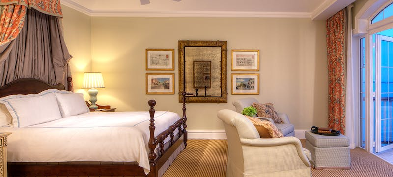 Villa Suite  Bedroom at Tuckers Point, Bermuda