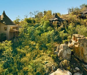 Aerial View of Ulusaba Private Game Reserve Sabi Sand Game Reserve
