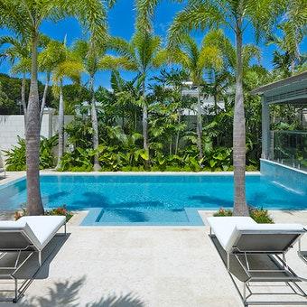 Pool Area at Villa Bonita, Barbados