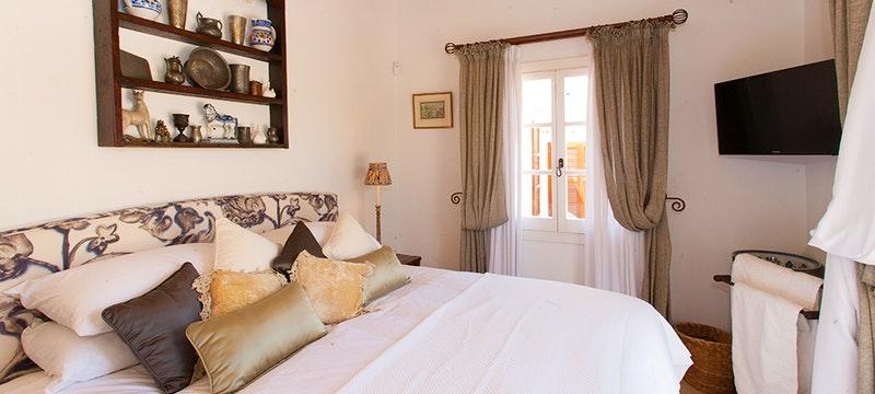 Bedroom at Villa Eulalia, Mallorca, Spain