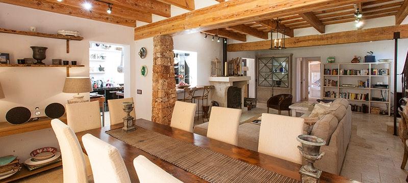 Dining Area at Villa Eulalia, Mallorca, Spain