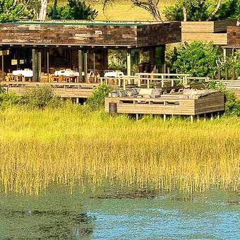 Luxury Lodge at Vumbura Plains, Bostwana