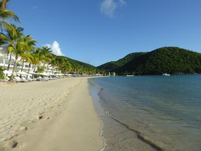 Just Returned: Carlisle Bay, Antigua