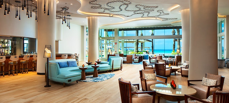 Bar Area at Westin Grand Cayman, Cayman Islands