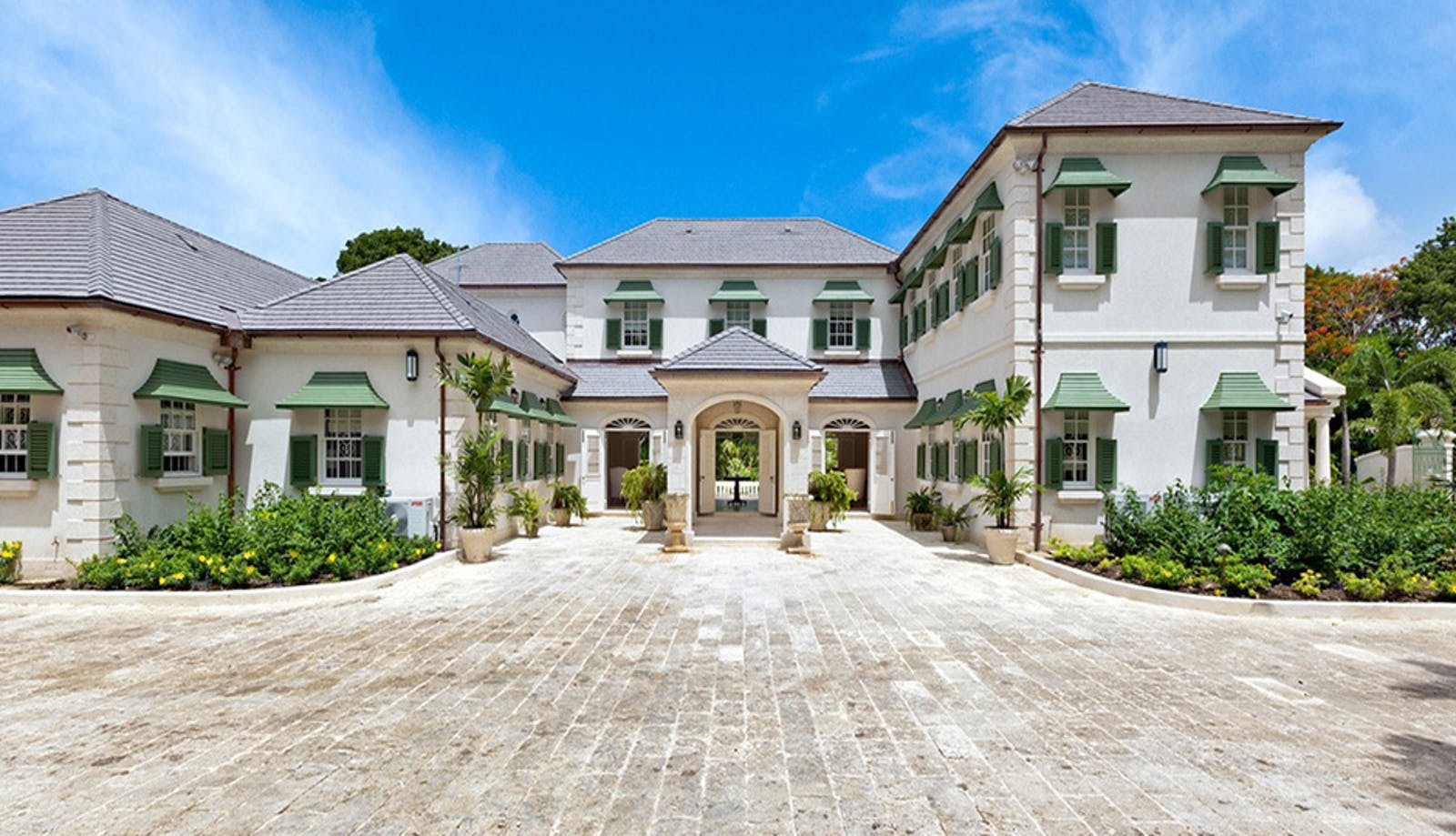 Exterior at Windward House Villa, Sandy Lane Barbados