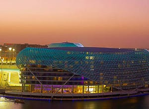 A luxury stay at the Yas Viceroy, Abu Dhabi