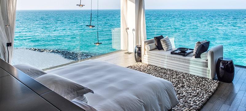 Bedroom at Zaya Nurai Island