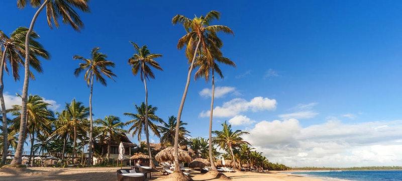 Beautiful shoreline at Zoetry Agua Punta Cana, Dominican Republic