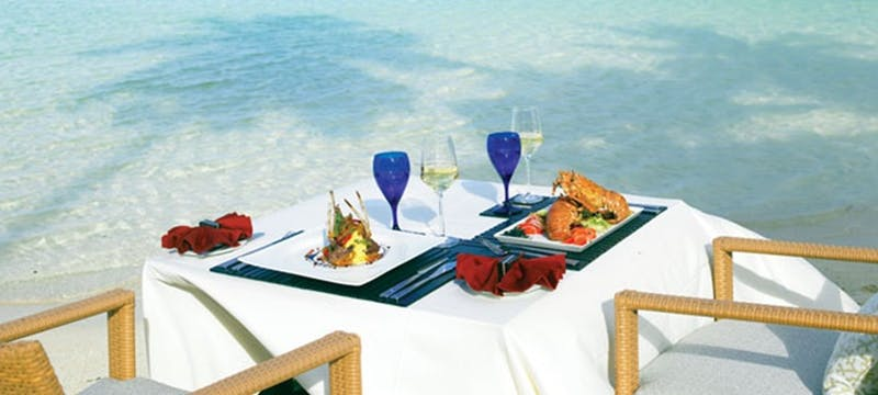 Private dining at Hilton Seychelles Labriz, Mauritius