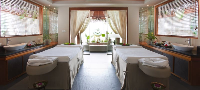 spa treatment room at Baros, Maldives
