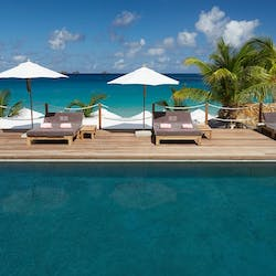 Swimming Pool at Cheval Blanc St Barth Isle de France