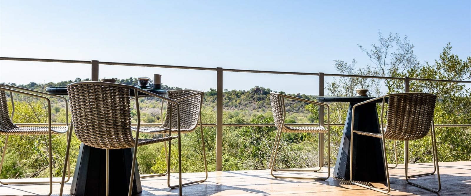 Balcony View At Singita Pamushana Lodge