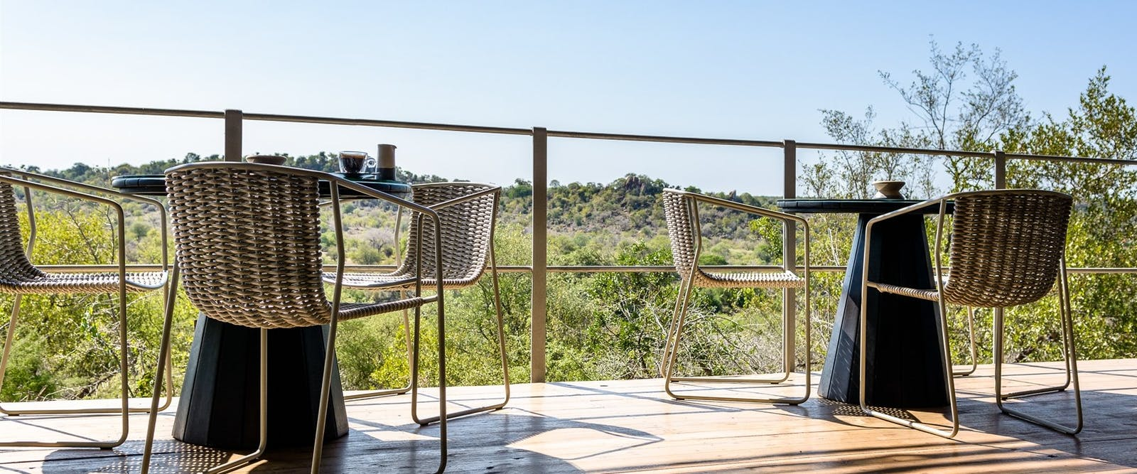 Outdoor Sitting Area at Singita