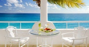 Enjoy breakfast overlooking the ocean at Belmond La Samanna, St Martin