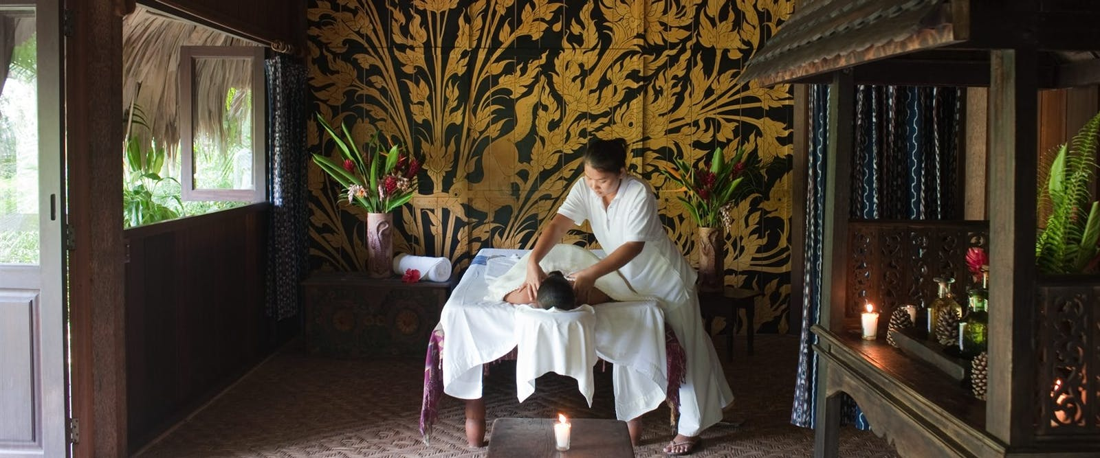 spa treatment, Blancaneaux Lodge, Belize