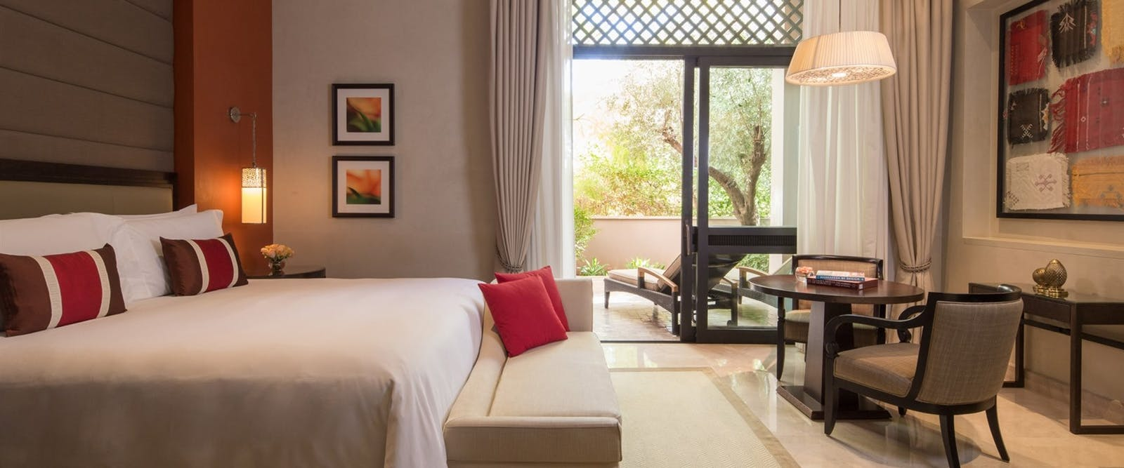Accommodation at Four Seasons Marrakech, Morocco