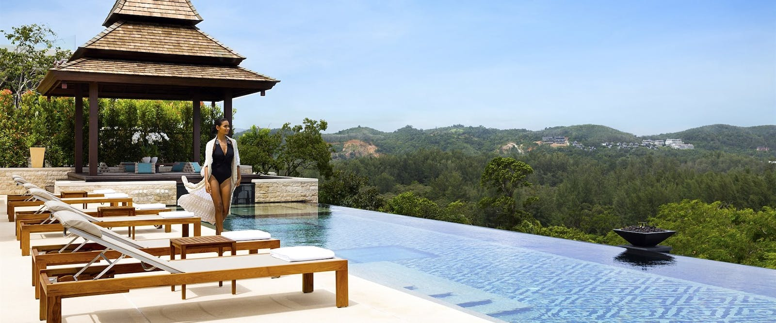 Residences Pool Day at Anantara Layan Phuket Resort, Thailand
