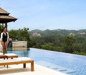 Residences pool at Anantara Layan Phuket Resort, Thailand