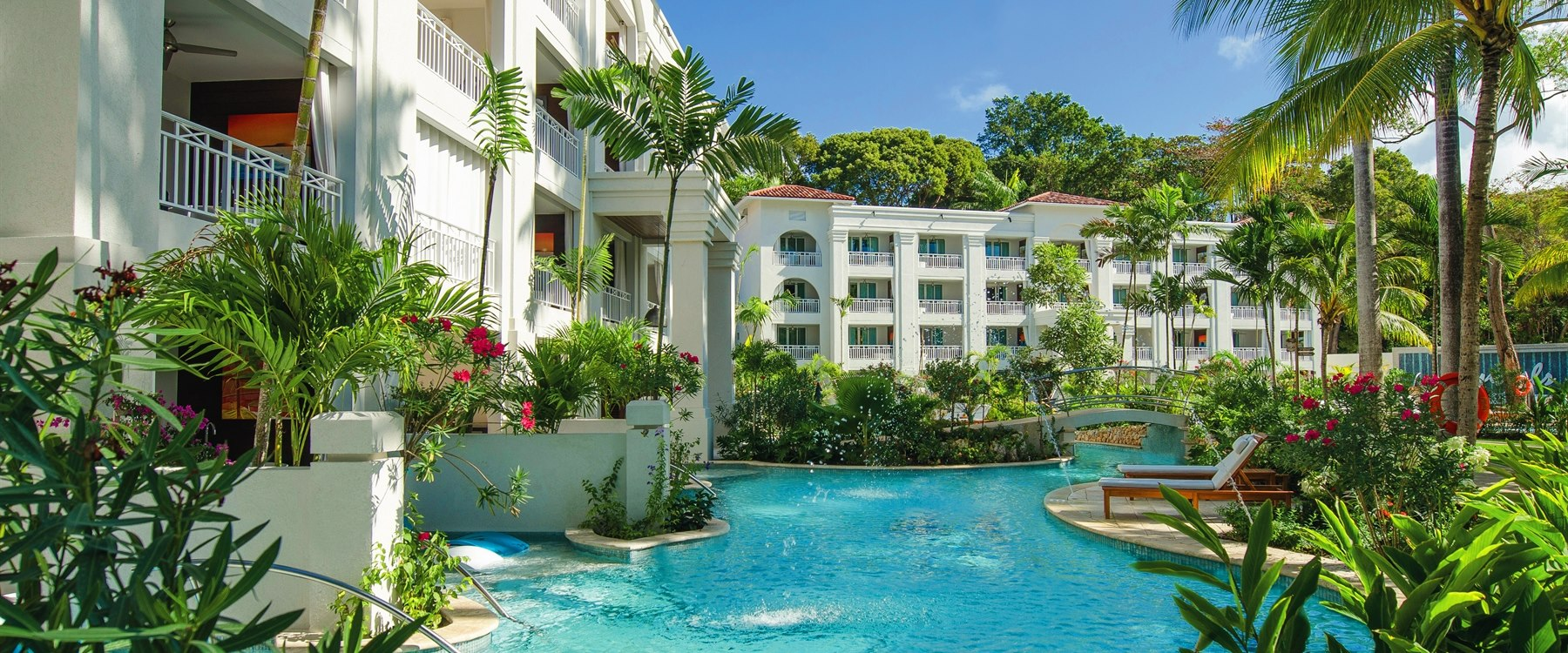 Stunning Exterior of Sandals, Barbados