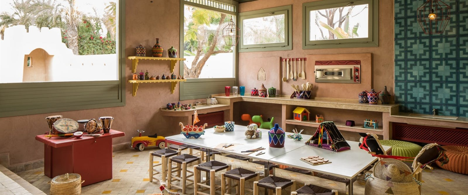 Kids Club Play Room at Four Seasons Marrakech, Morocco