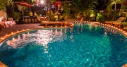 Guest pool at Hotel By The Red Canal
