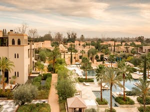 Resort Overview at Four Seasons Marrakech, Morocco