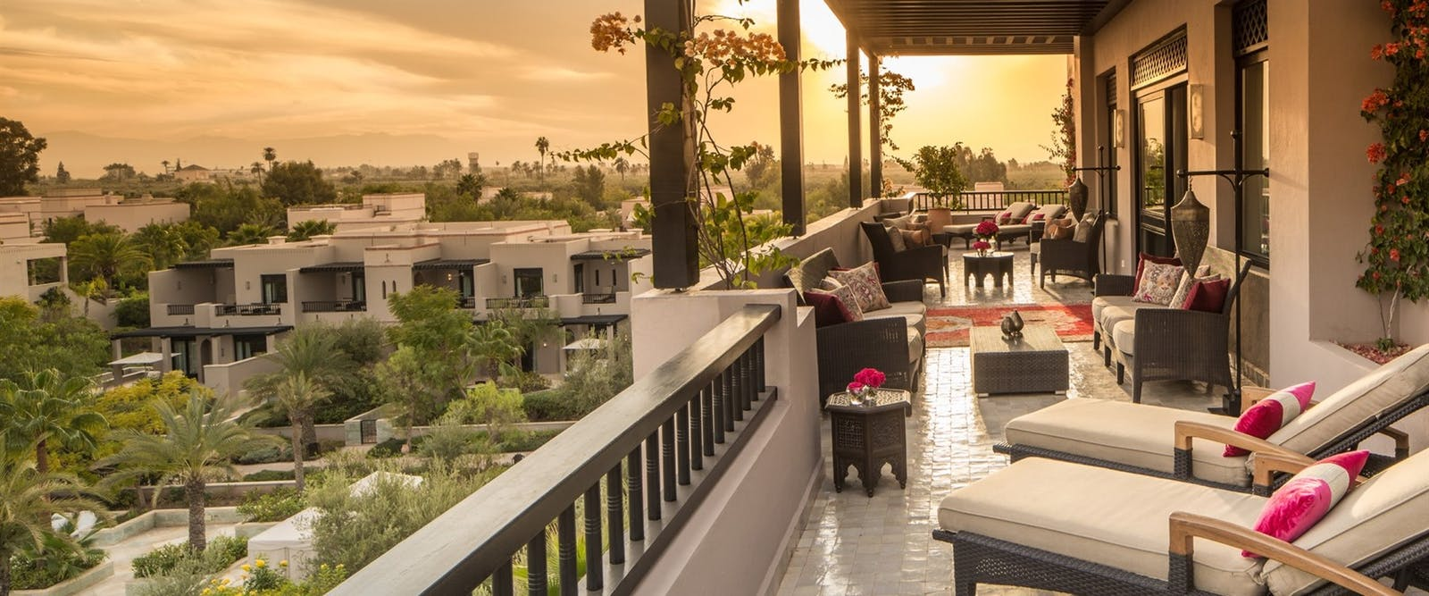 Two Bedroom Panoramic Presidential Suite at Four Seasons Marrakech, Morocco