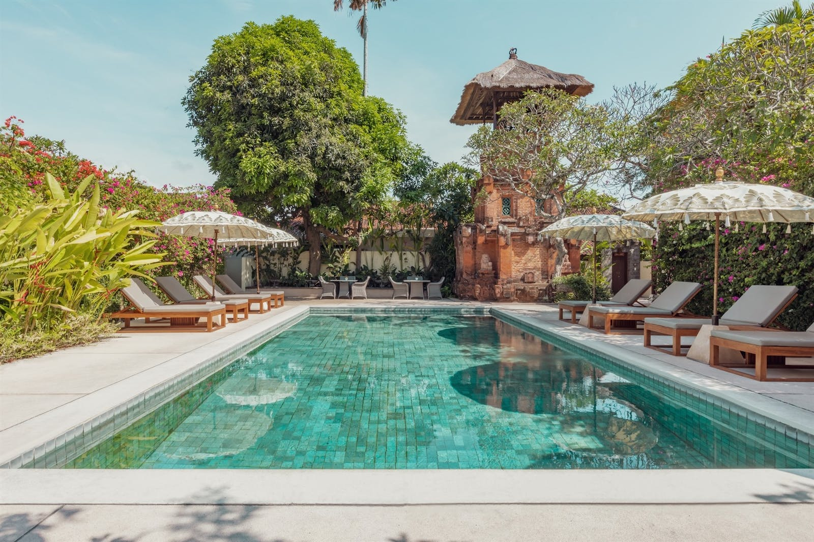 Main swimming pool, The Pavilions, Bali