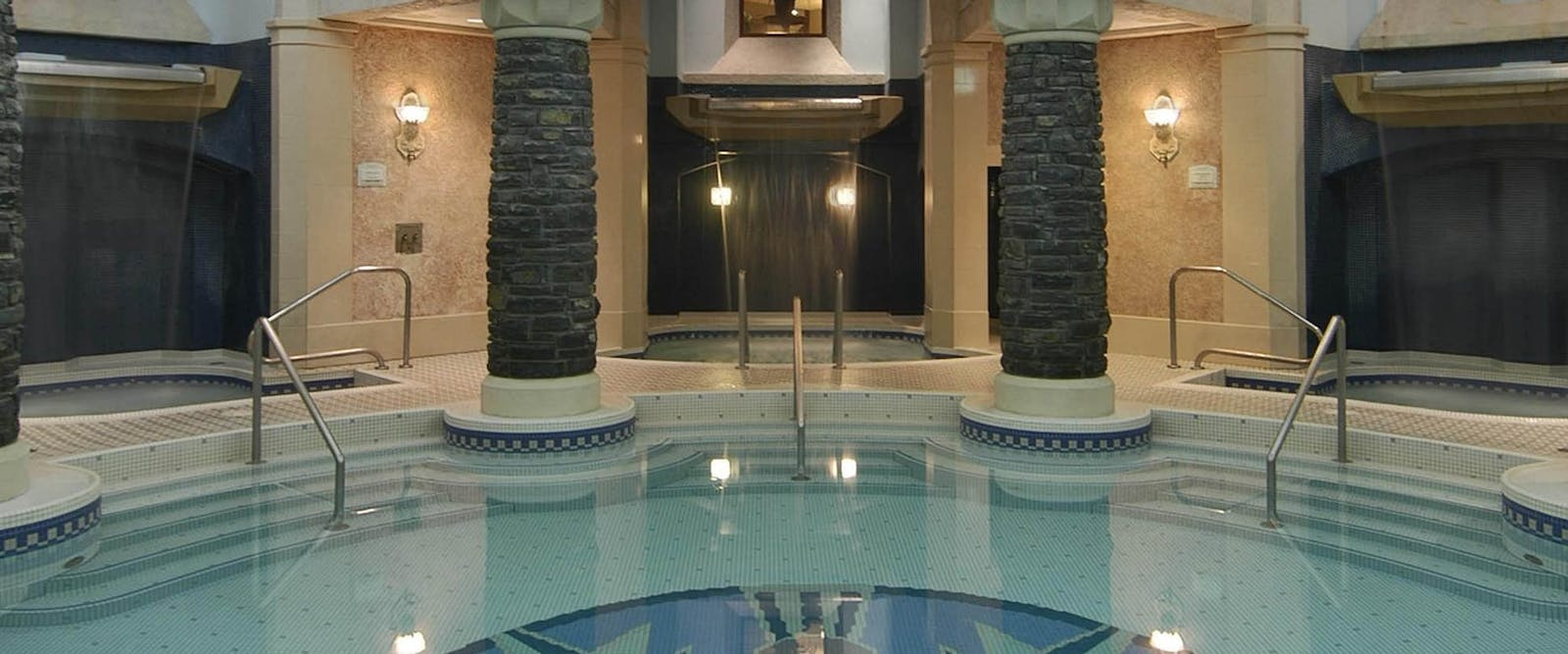 Spa Pool at Fairmont Banff Springs, Alberta