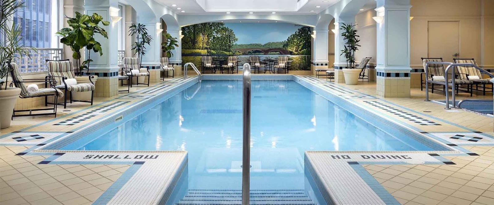 Indoor Swimming Pool at Fairmont Royal York, Toronto