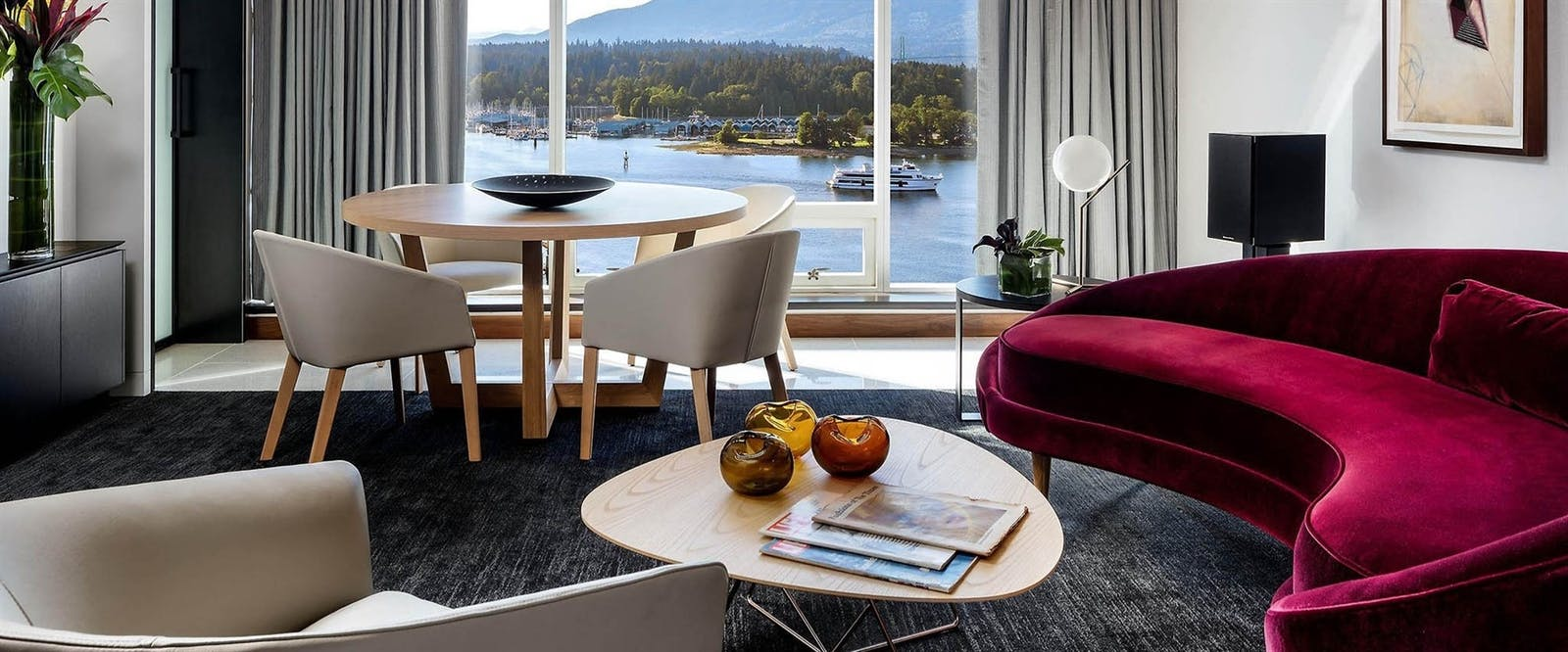 Owners Suite at Fairmont Pacific Rim, Vancouver