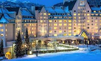 Exterior of Fairmont Chateau Whistler, British Columbia