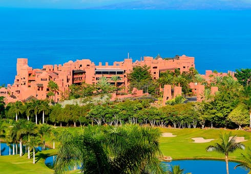 Panoramic Views of The Ritz-Carlton, Abama, Tenerife