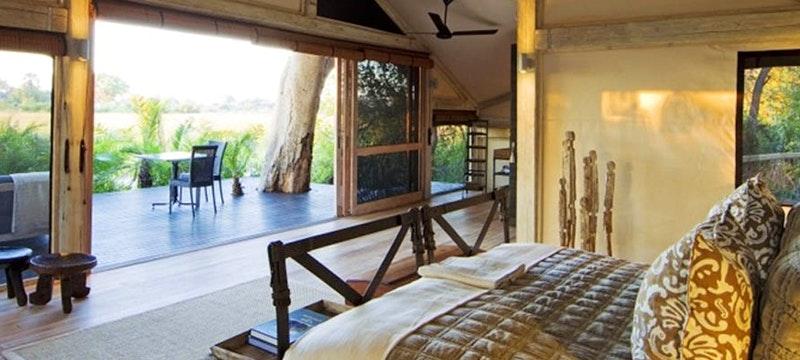 Lodge En-suite at Abu Camp, Bostwana