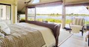 Lagoon View En-suite at Abu Camp, Bostwana