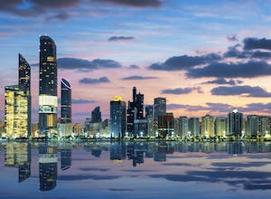 Skyline of Abu Dhabi