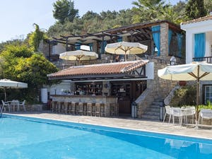 Pool Bar at Aegean Suites, Skiathos