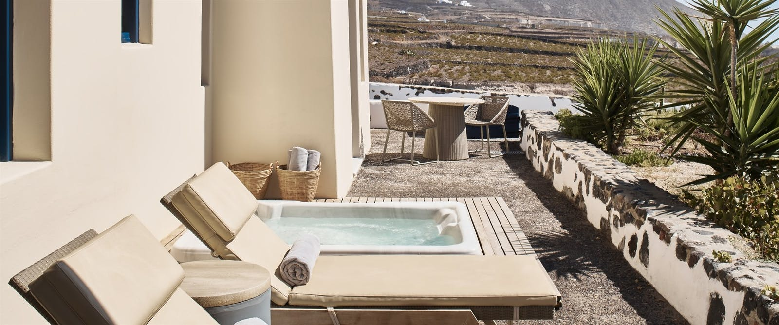 Aegean Suite Terrace at Vedema, a Luxury Collection Resort, Santorini, Greece