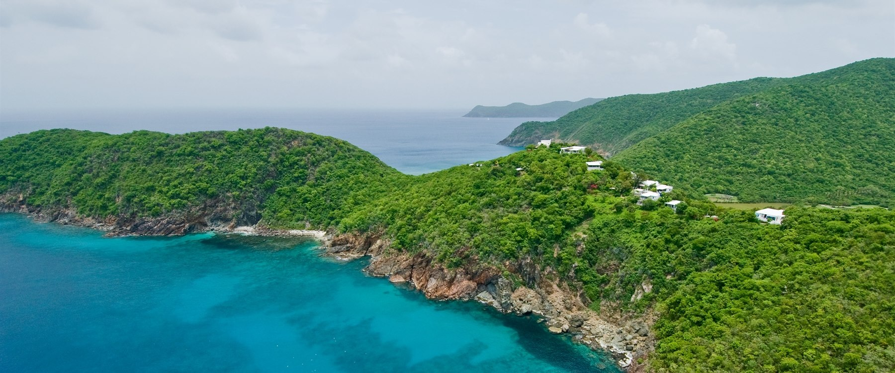 Stunning shot of Guana Island, British Virgin Islands