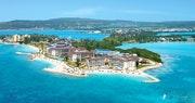 Aerial view of Secrets St James & Secrets Wild Orchid Montego Bay, Jamaica