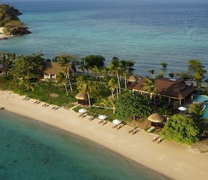Aerial view of Two Seasons Coron Island Resort & Spa, Palawan