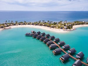 Ariel View of Fiji Marriott Resort Momi Bay, French Polynesia