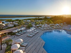 Outdoor Swimming Pool at Hotel Quinta Do Lago, Algarve, Portugal