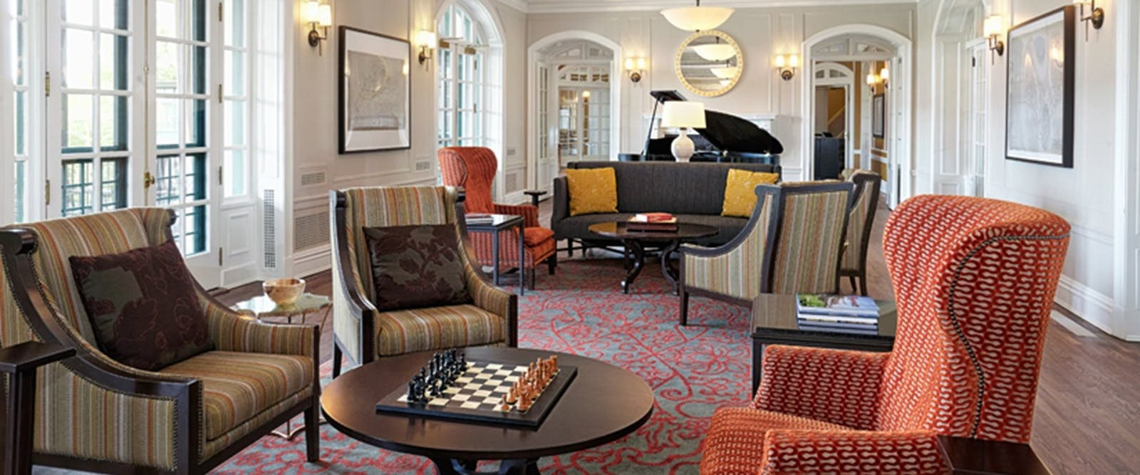 Lounge room at The Algonquin Resort, St. Andrews