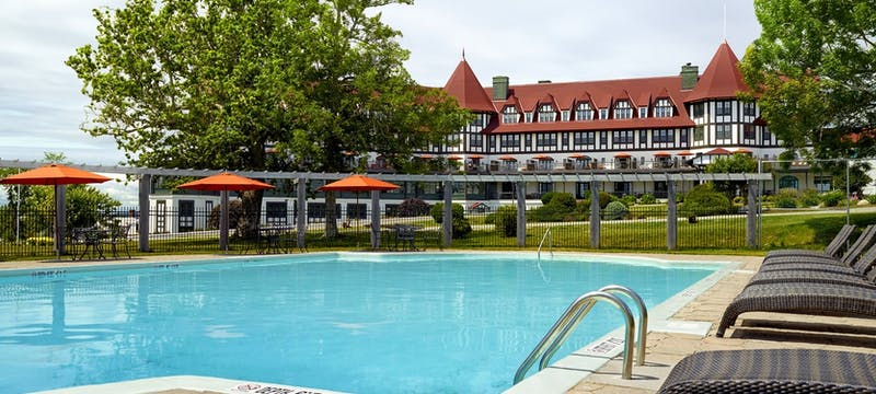 Outdoor pool at The Algonquin Resort, St. Andrews