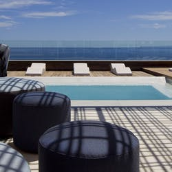 Swimming pool at Hotel Aguas de Ibiza
