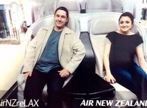 Air New Zealand celebrates new seats